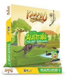 Kaadoo Explore Wild Australia The Land Down Under Board Game