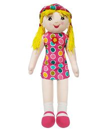 Ultra Candy Doll Polka Dots Pink - 68.5 cm