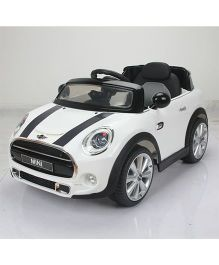 BMW Mini Cooper 195 Battery Operated Ride On - White