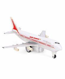 Speedage Jumbo 747 Air India Plane - Red And White