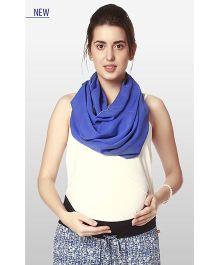 Nine Maternity Wear Magical Nursing Scarf - Blue