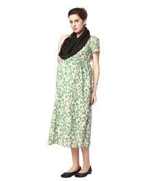 Nine Maternity Wear Magical Nursing Scarf - Black