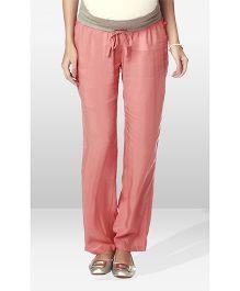 Nine Maternity Wear Pajama Pants - Coral