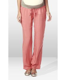 Nine Maternity Wear Pajama Pants - Coral