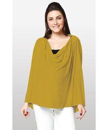 Nine Maternity Wear Magical Nursing Scarf - Dark Yellow