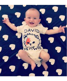 Pre Order - Adores Short Sleeve Cotton Toddler Onesie - White