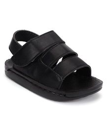 Bash Sandals Velcro Closure - Black