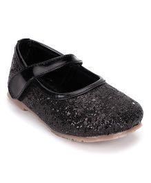 Bash Shimmer Bellies Velcro Closure - Black