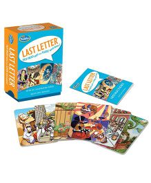 Thinkfun Last Letter Card Game - 61 Pieces