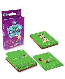 Thinkfun Yoga Cards Game - 55 Cards