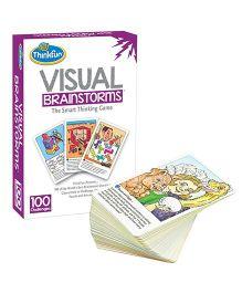 Thinkfun VisualBrainstroms Card Game - 100 Cards