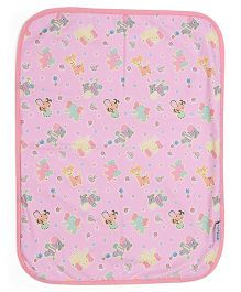 1st Step Bed Protector Animal Print - Pink