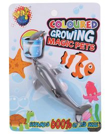 Karma Boing Colored Growing Magic Pet Dolphin - Grey