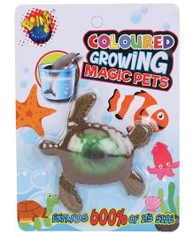 Karma Boing Colored Growing Magic Pet Turtle - Green