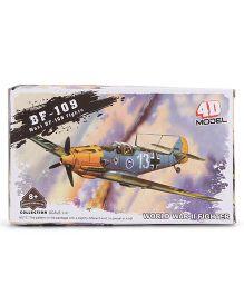Model Vintage Fighter Planes - Grey