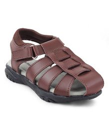 Kittens Shoes Floater Sandals - Brown