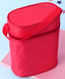 Insulated Double Bottle Bag Red - Fits Bottle Upto 330ml Each