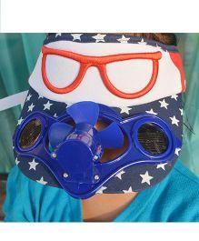Tipy Tipy Tap Sun Fan Cap - Blue