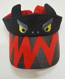 Tipy Tipy Tap Monster Cap - Red & Black