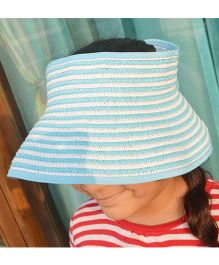 Tipy Tipy Tap Stripes Fashion Hat - Blue