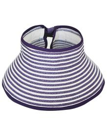 Tipy Tipy Tap Stripes Fashion Hat - Purple