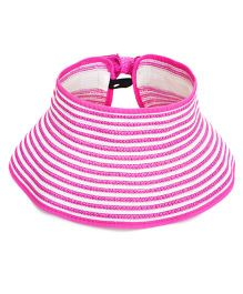 Tipy Tipy Tap Stripes Fashion Hat - Rose