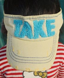 Tipy Tipy Tap Denim Distressed Infant Cap - Sky Blue