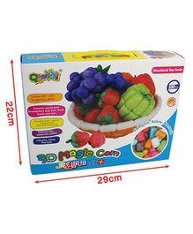 Tipy Tipy Tap 280Pc Magic 3D Corn Blocks Puzzle Game - Multicolour