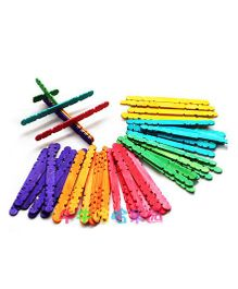 Tipy Tipy Tap Popsicle Stick Blocks Puzzle - Multicolour