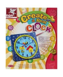 Toy Kraft - Ceate A Real Clock