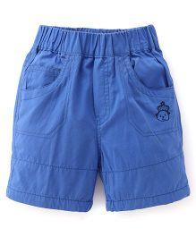 Jash Kids Solid Color Short - Blue