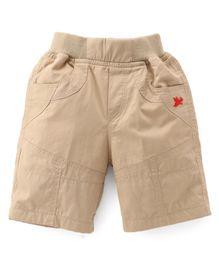 Jash Kids Three Fourth Pants - Light Fawn