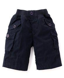 Jash Kids Three Fourth Pants - Dark Navy