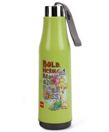 Cello Homeware Water Mate Bottle Tinkerbell Print Green - 700 ml