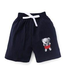 Teddy Shorts - Navy Blue