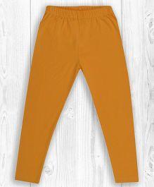 Pranava Organic Cotton Plain Bumble Bee Leggings - Yellow