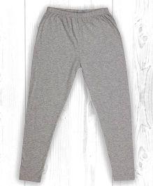 Pranava Organic Cotton Leggings - Grey Melange