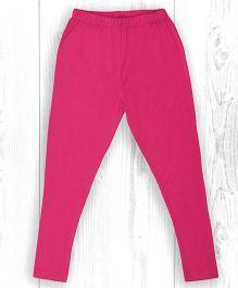 Pranava Organic Cotton Leggings - Raspberry Pink