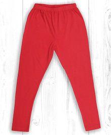 Pranava Organic Cotton Leggings - Red