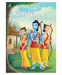 Ramayana For Children Story Book - English