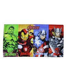 Marvel Towel Avengers Printed - Multi Color
