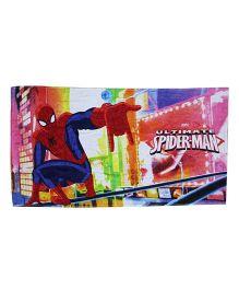 Marvel Towel Ultimate Spiderman Printed - Multi Color