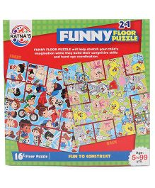 Funskool learn india map puzzle 104 pieces ratnas funny 2 in 1 floor puzzle multicolor gumiabroncs Images