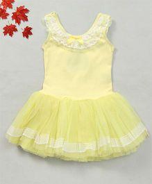 Party Princess Ballet Dress - Yellow