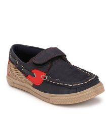 Tuskey Boat Shoes - Navy Blue