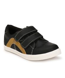 Tuskey Velcro Shoes - Black