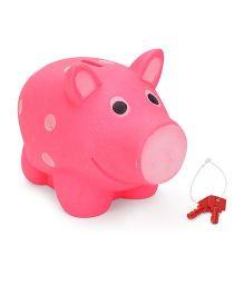 Ratnas Piggy Bank Pig Shape - Pink