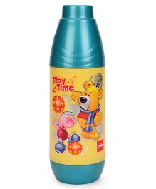 Cello Homeware Insulated Water Bottle Play Time Print Green - 600 ml