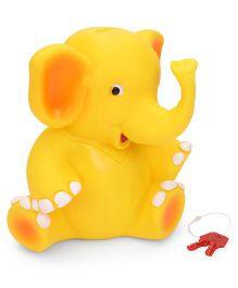 Ratnas Piggy Bank Elephant Shape - Yellow
