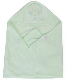 Simply Hooded Towel - Light Green